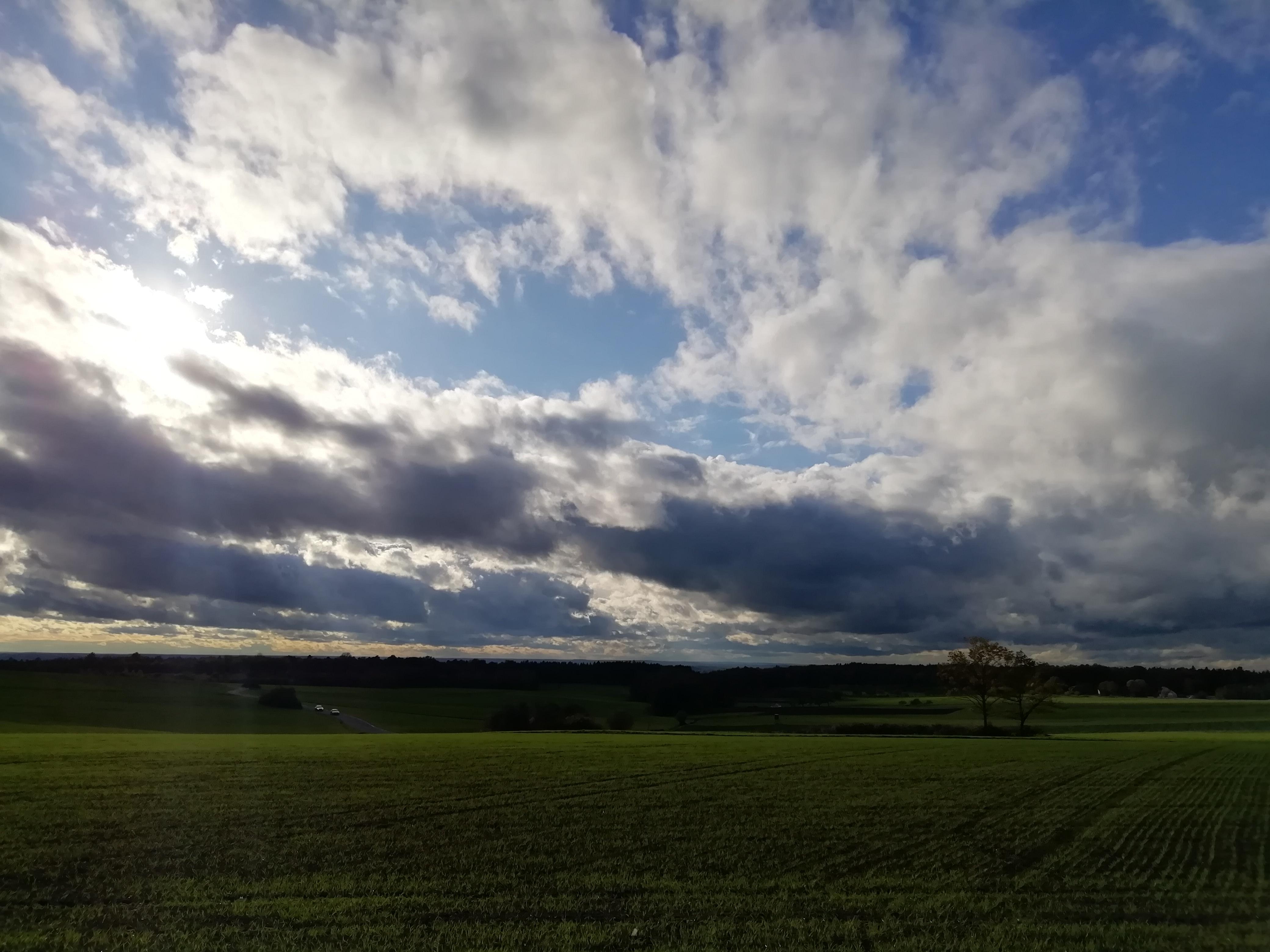 Westwindwetter - Eine Wetterlage mit viel Wind.